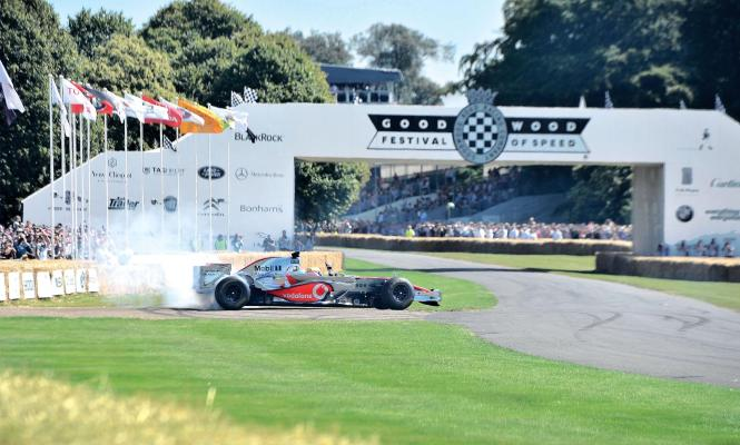 F1 CArs at Goodwood Festival of Speed