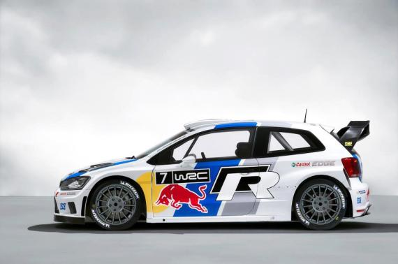 VW POLO WRC Rally Car