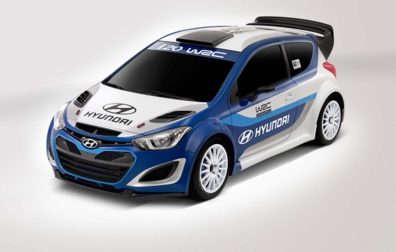 Hyundai's rally-ready i20