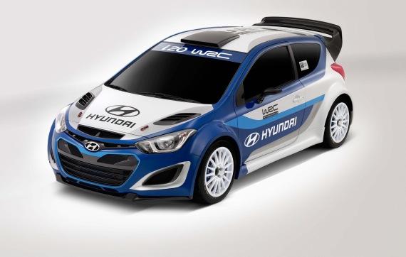 Hyundai's rally-ready i20