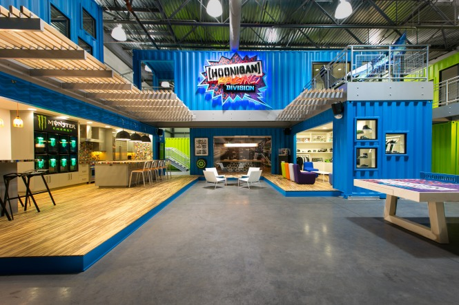 Ken Blocks Hoonigan Racing Division HQ