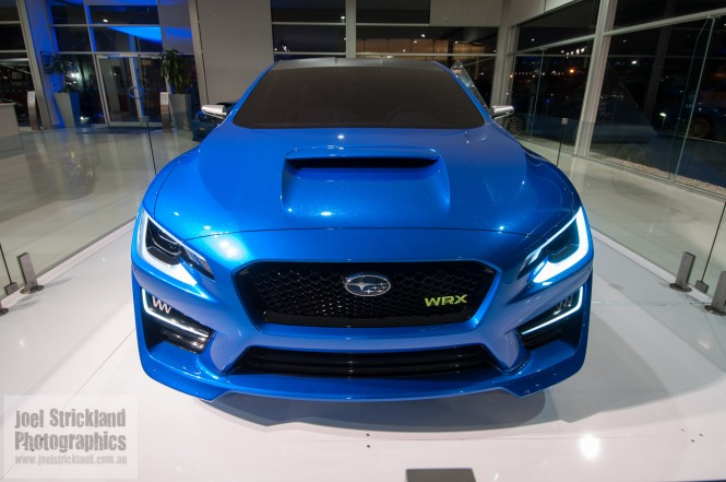 Subaru WRX Concept Car from New York Auto Show