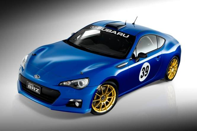 PBMS BRZ motorsport project car