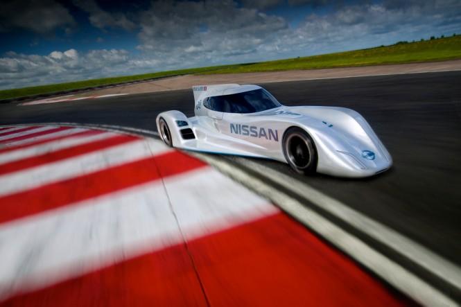 Nissan ZEOD RC 2014 Le Mans Racer