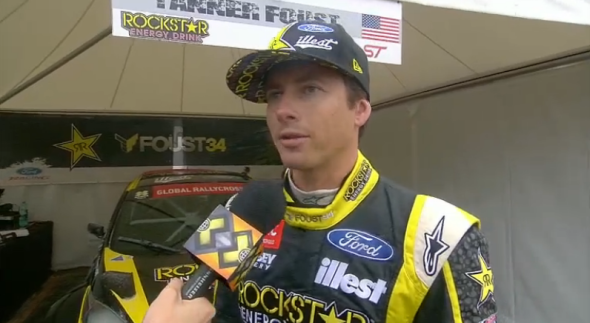 Tanner Foust interviewed by ESPN
