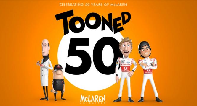 McLaren Formula 1   Tooned is back