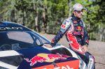 Sébastien Loeb and the Peugeot 208 T16 Pikes Peak during test Sessions Pikes peak