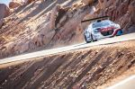 Sebastien Loeb Performs during the test session with the Peugeot 208 T16 pikes peak