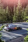 Sebastien Loeb Performs during the second test session with the Peugeot 208 T16 pikes peak