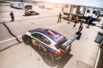 Sebastien Loeb Performs during the test session with the Peugeot 208 T16 in pikes peak raceway