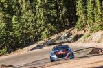 Sebastien Loeb Performs during the qualification session with the Peugeot 208 T16 pikes peak