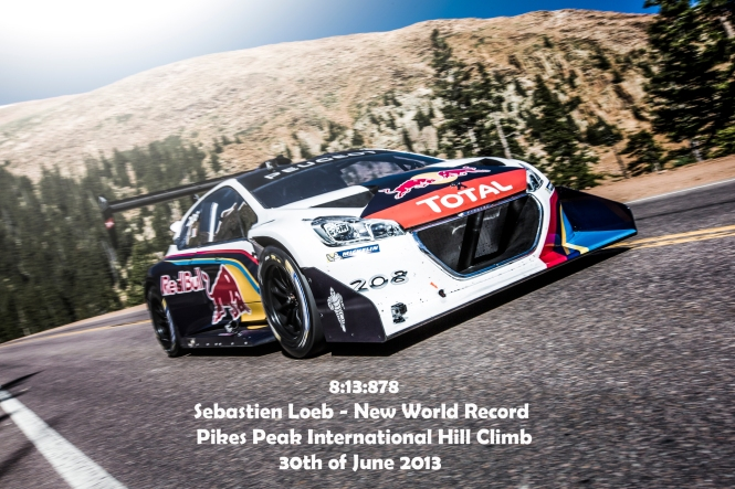 Sebastien Loeb sets new World record at Pikes Peak International Hill Climb
