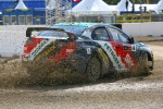 Guiga Spinelli Mitsubishi Lancer Evo - (C) Global-Rallycross.com