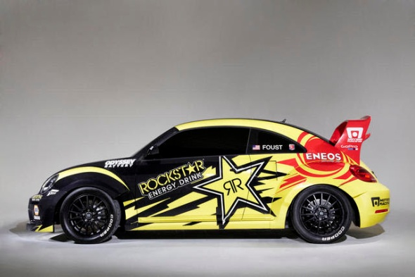 The 2014 Rockstar Energy Drink Beetle // CREDIT: Volkswagen
