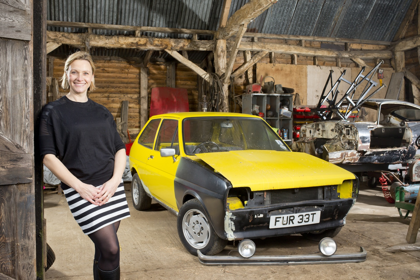Vbh gets her first car rebuilt in just 48hrs joel for Resto equipement