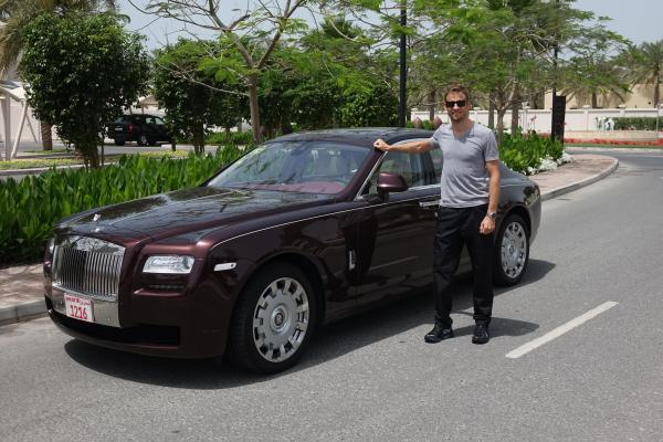 Jenson Button & Rolls-Royce