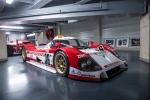 Toyota'as Lemans Race Car history line up