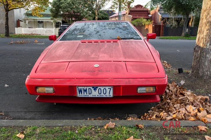Abandoned Lotus Espirit - Third Generation 1980-1987
