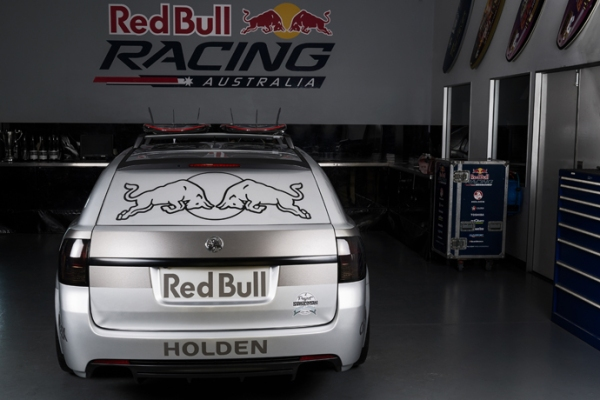 back-view  Redbull Racing has created the ultimate Sandman Tribute. back view