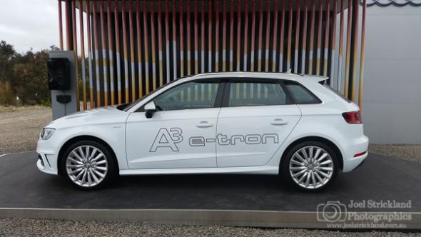 Audi A3 E-Tron Sportsback test drive experience - November 2014