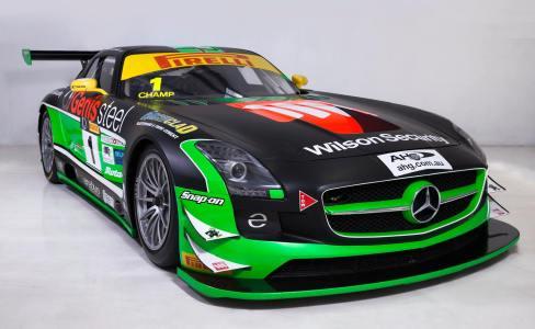 Erebus SLS AMG GT3 Car