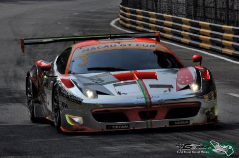 Clearwater Racing Ferrari F458 GT3 Car
