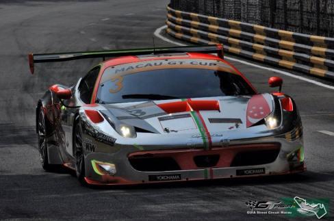 Clearwater Racing Ferrari F458 GT3 Car