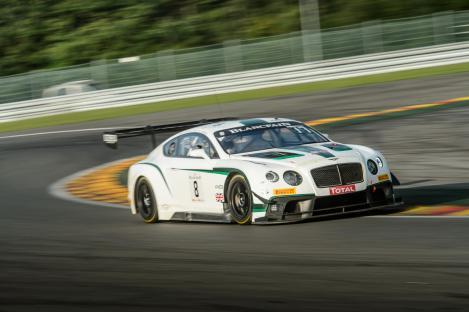 Bentley M Sport GT3 Car