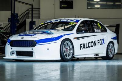 FPR Ford FALCON_FGX_V8SC  2015 V8 Supercars Teams and Drivers Social Media Guide falcon fgx v8sc 1