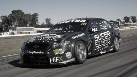 Superblack racing v8 supercar ford falcon