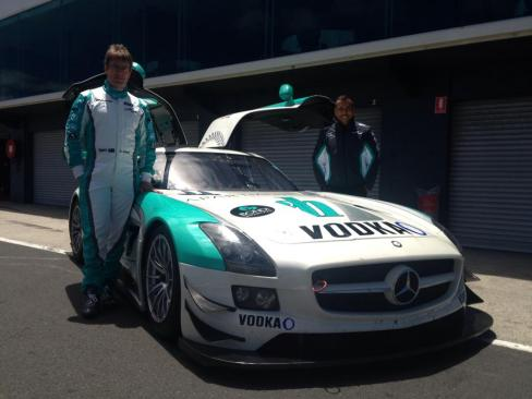 Garth Walden Racing SLS AMG