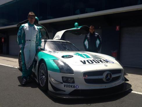 Garth Walden Racing SLS AMG