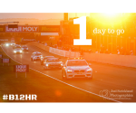 2014 Bathurst 12hr Race Start Sunrise