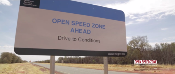 Porsche 918 Flatout in the Australian Outback