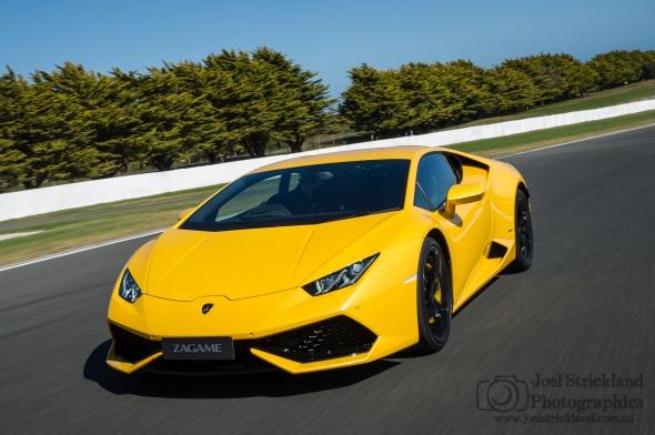 2015 Lamborghini Huracán - Giallo Midas
