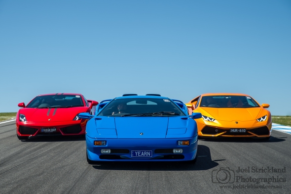 Zagame Lamborghini Track Day - Phillip Island - October 2015