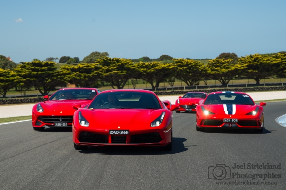 Zagame Ferrari Track Day Phillip Island October 2015