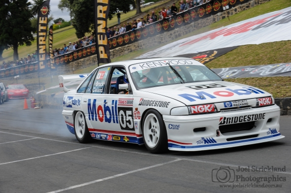 Troy Kelly - 1993 Holden VP Commodore - 2015 Geelong Revival Motoring Festival, Geelong, Victoria. 29th of November 2015. Copyright Joel Strickland Photographics