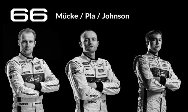 Le Mans Drivers #66 Mücke/Pla/Johnson
