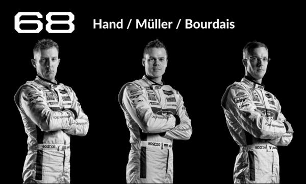 Le Mans Drivers #68 Hand/Müller/Bourdais