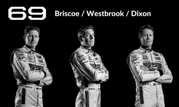 Le Mans Drivers #69 Briscoe/Westbrook/Dixon