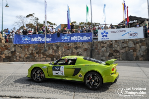Brian Pereira, Stevie‐Lee Rice 2014 Lotus Elise S