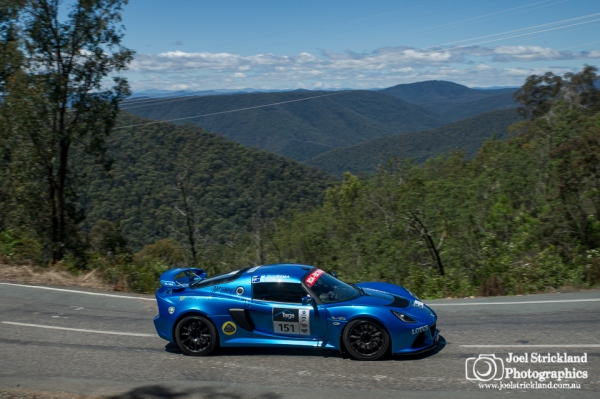 Duursma & Cox 2013 Lotus Exige S V6 - Targa High Country 2015