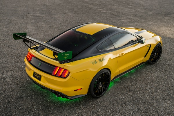 "The Ford ""Ole Yeller"" Mustang"