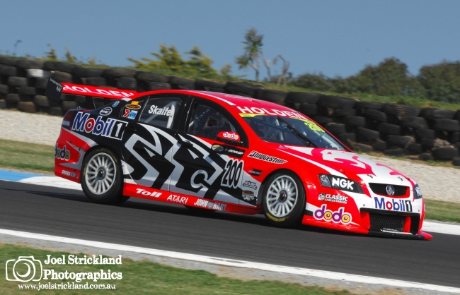 Mark Skaife Holden Commodore Phillip Island 2007