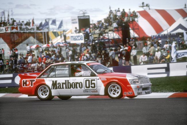 The 1984 HDT Holden Commodore of Peter Brock