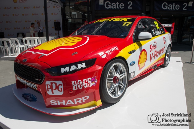 Team DJR Penske Shell V-Power Livery Launch - 7th February 2017