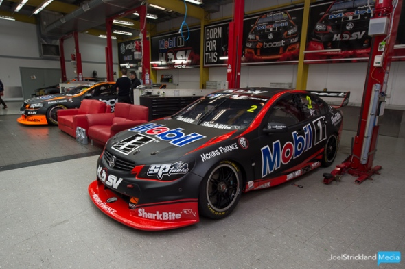 The Mobil 1 HSV Racing Holden Commodore Supercar of Scott Pye