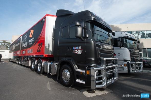 Mobil 1 HSV Racing Transporter