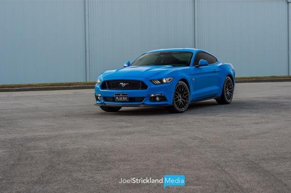 Ford Mustang GT Grabber Blue